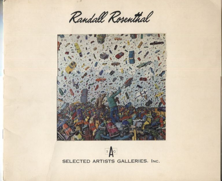 Randall Rosenthal; Paintings. Art Exhibition Catalog.