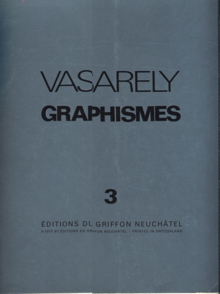 Graphismes 3. Vasarely.