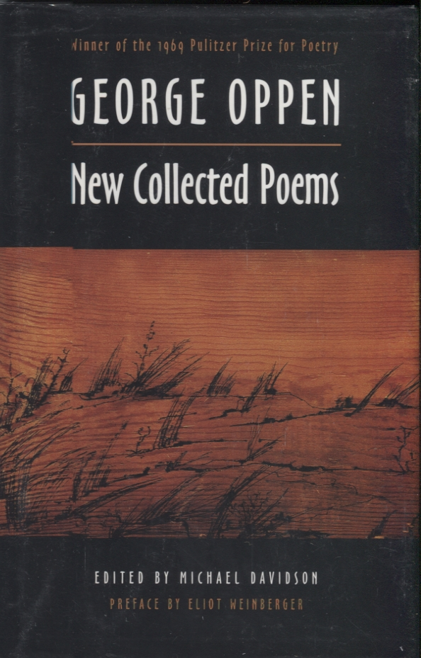 New Collected Poems. George Oppen.
