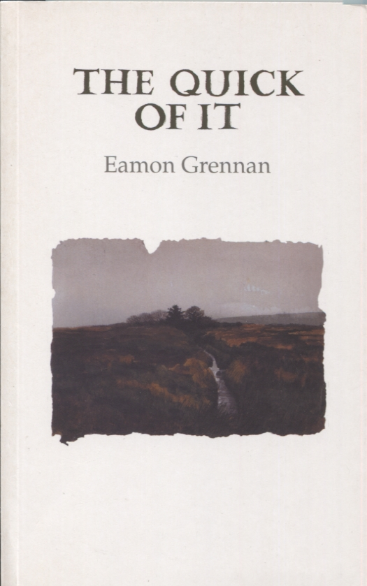 THE QUICK OF IT. Eamon Grennan.