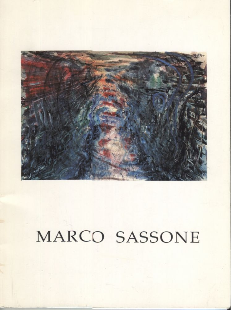Marco Sassone: Watercolors. Marco Sassone, Exhibition catalog.