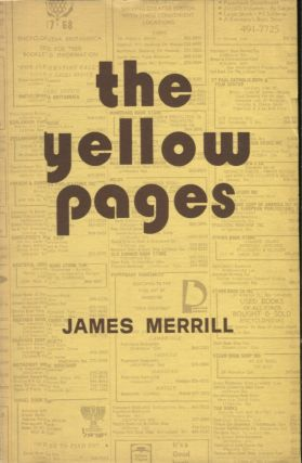 THE YELLOW PAGES. James Merrill