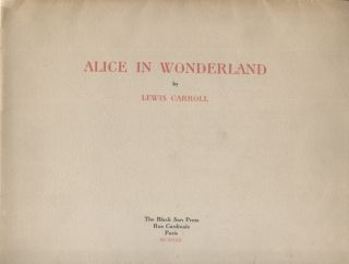 ALICE IN WONDERLAND. Lewis Carroll