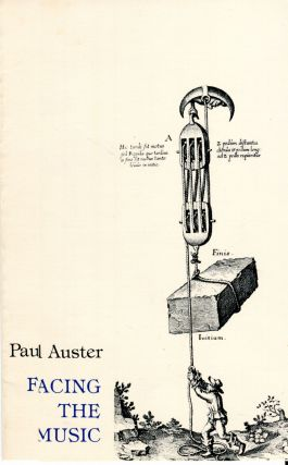 Facing the Music. Paul Auster