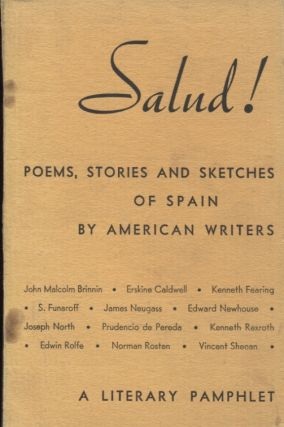 Salud!; Poems, Stories and Sketches of Spain by American Writers. Alan Calmer