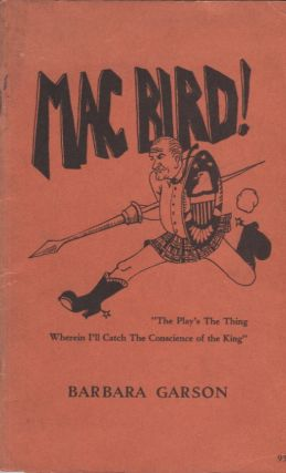 Mac Bird! Barbara Garson