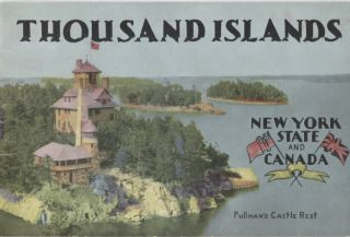 Thousand Islands; New York State and Canada