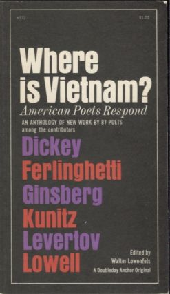 Where is Vietnam?; American Poets Respond. Walter Lowenfels